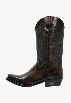 Cowboy-/Bikerlaarzen - marron