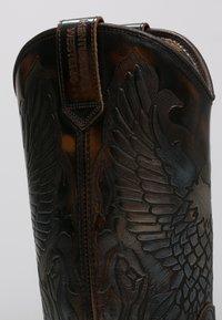 Kentucky's Western - Kovbojské/motorkářské boty - marron - 5
