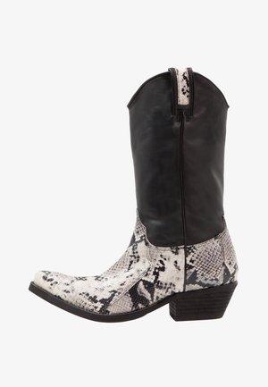 Kovbojské/motorkářské boty - tahore arce