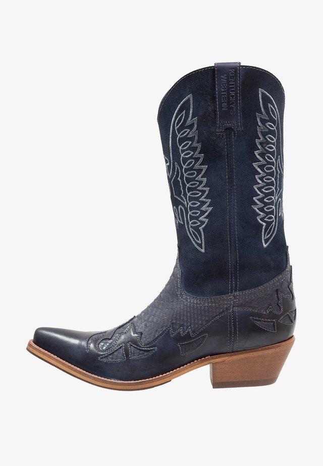 Cowboy/Biker boots - tint/baltico