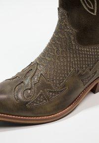Kentucky's Western - Cowboy-/Bikerlaarzen - tint/olive - 5