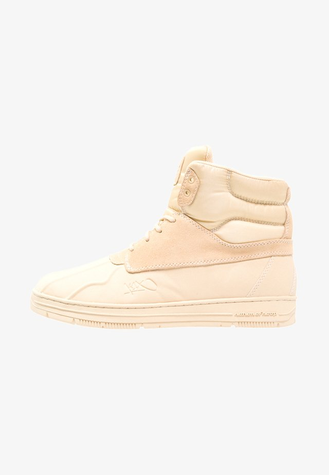 SHELLDUCK  - High-top trainers - marzipan