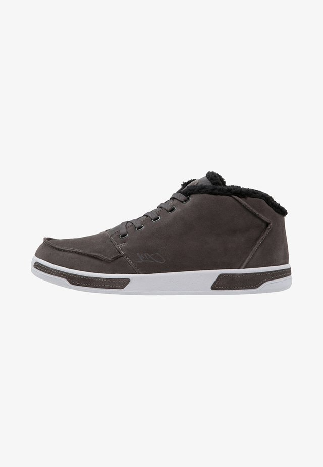 PARK AUTHORITY  - High-top trainers - dark grey/white