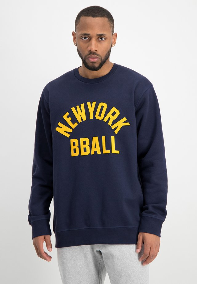 Sweater - peacoat