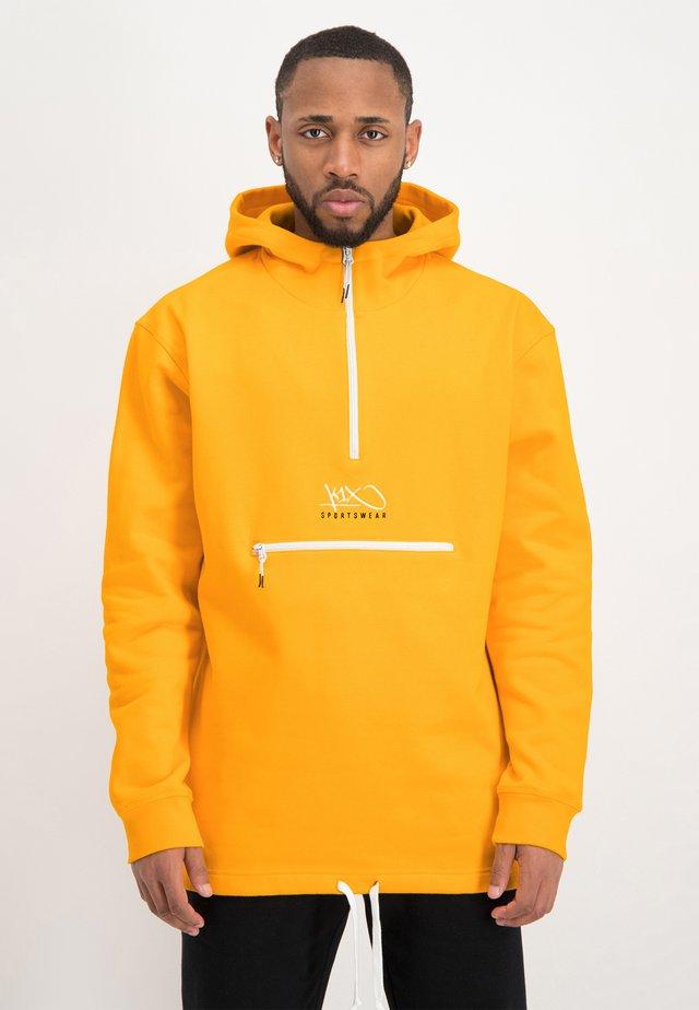 Hoodie - saffron