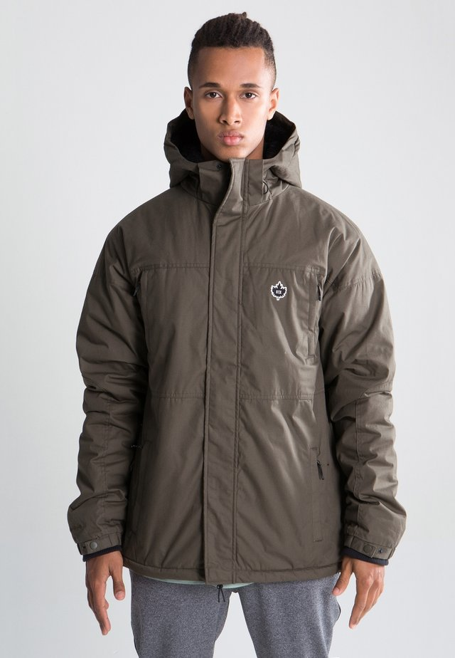 URBAN HOODED ZT MK3 - Winter jacket - tarmac