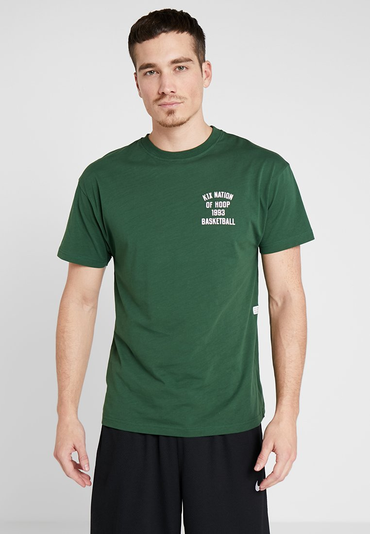 K1X - ONE COURT AT A TIME - Print T-shirt - forest green