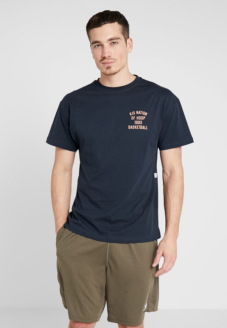 K1X - ONE COURT AT A TIME  - Print T-shirt - navy