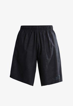 CORE CAMOUFLAGE  - Pantalón corto de deporte - black