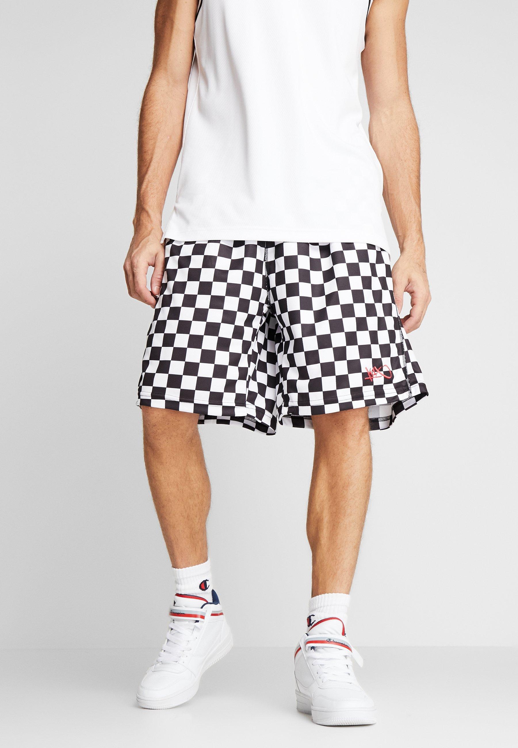 White ShortsPantaloncini Checker Sportivi ShortsPantaloncini K1x Sportivi K1x Checker O0Pknw