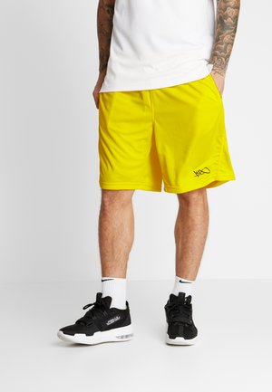 NEW SHORTS - Träningsshorts - cyber yellow