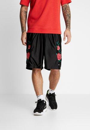 ROSES DAZZLE  - Korte broeken - black