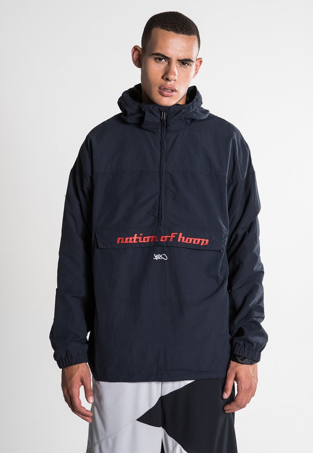 ATOMATIC LIGHTWEIGHT URBAN HOODED - Windjack - navy