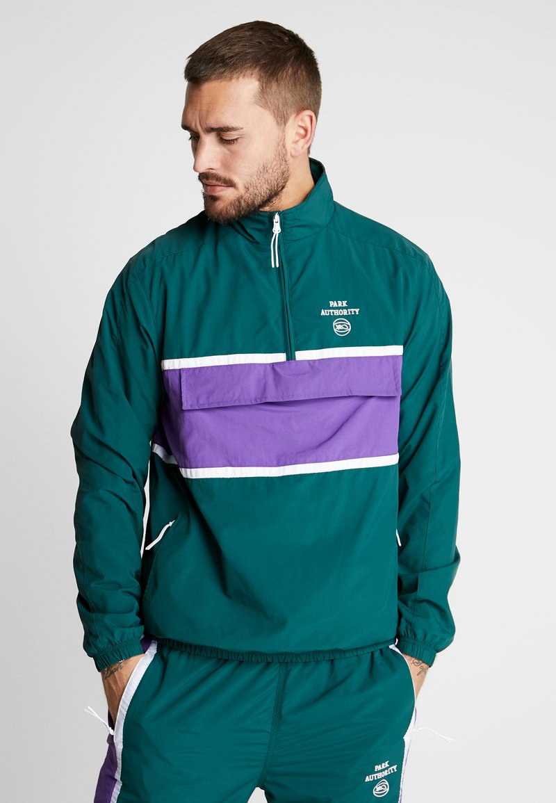 K1X - HALFZIP JACKET - Trainingsjacke - bistro green