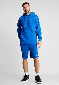 K1X - COLOR DISTRESSED HOODY - Jersey con capucha - lapis blue - 1