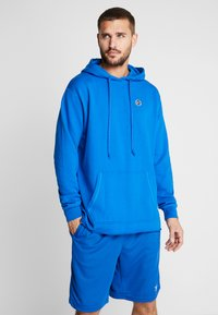 K1X - COLOR DISTRESSED HOODY - Jersey con capucha - lapis blue - 0