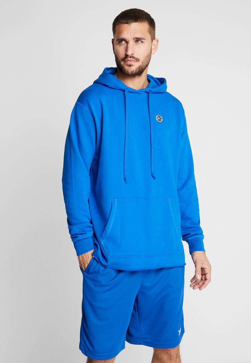 K1X - COLOR DISTRESSED HOODY - Jersey con capucha - lapis blue