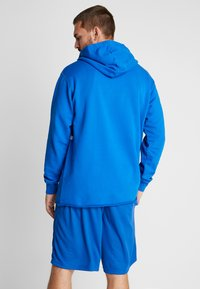 K1X - COLOR DISTRESSED HOODY - Jersey con capucha - lapis blue - 2