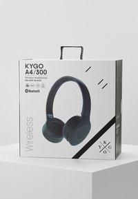 KYGO - ON EAR HEADPHONES - Casque - black - 4