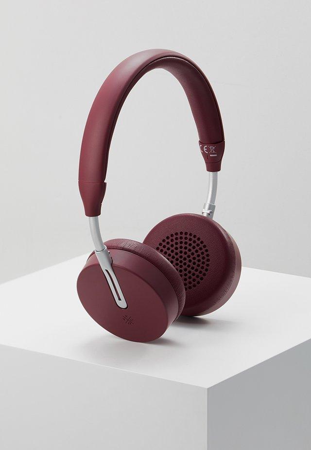 ON-EAR HEADPHONES  - Høretelefoner - burgundy