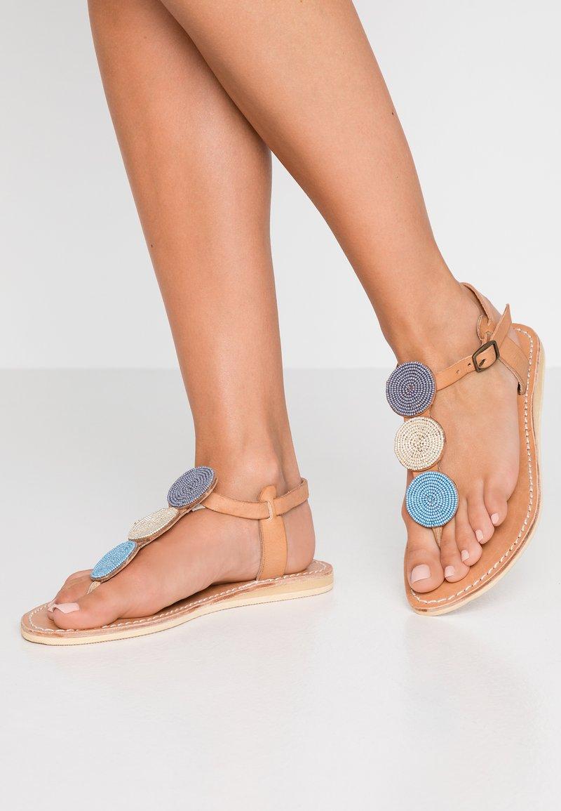 laidbacklondon - ISKO FLAT - Flip Flops - aqua