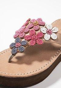 laidbacklondon - COOPER WEDGE - T-bar sandals - rose - 2