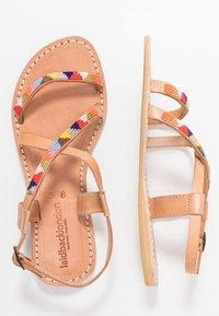 laidbacklondon - AZARI FLAT - Sandals - light brown - 3