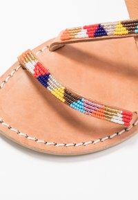 laidbacklondon - AZARI FLAT - Sandals - light brown - 2