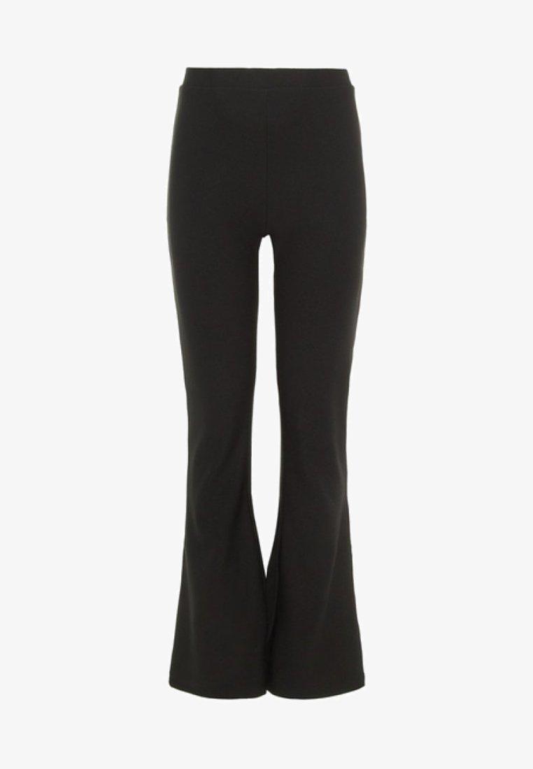LMTD - Spodnie materiałowe - black