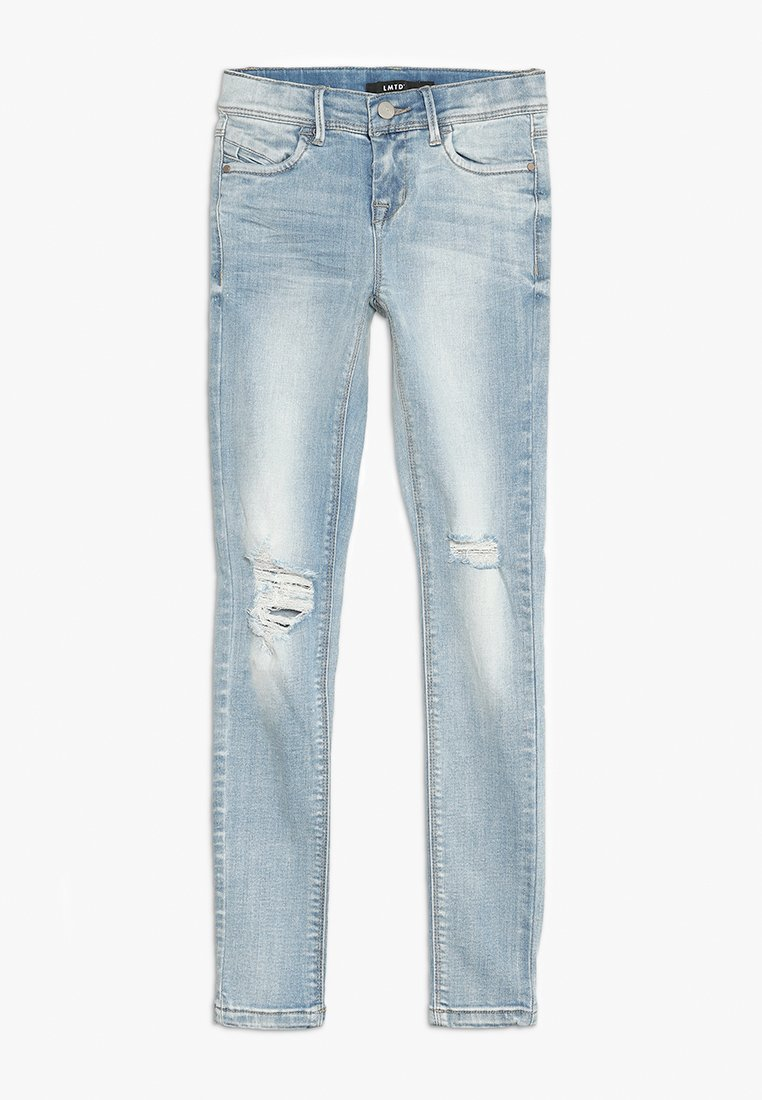 LMTD - NLFPIL DNMTERETE ANCLE PANT - Jeans Skinny Fit - light blue denim
