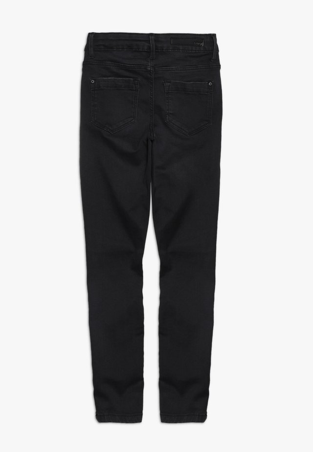 NLFPIL DNMTONJAS ANCLE PANT  - Jeans Skinny Fit - black denim