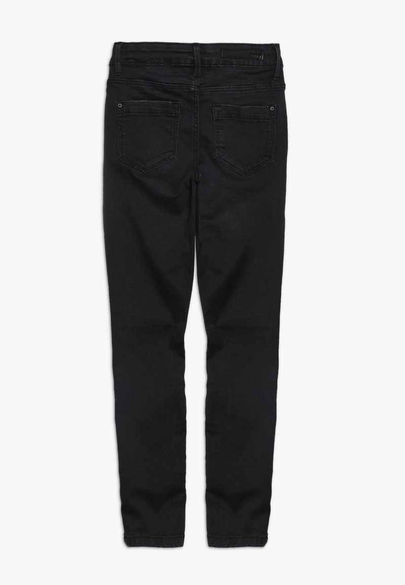 LMTD - NLFPIL DNMTONJAS ANCLE PANT  - Jeans Skinny Fit - black denim
