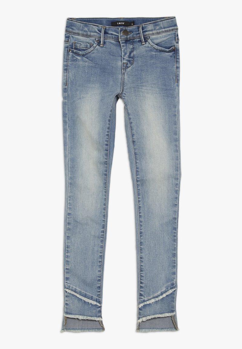 LMTD - NLFPIL DNMATERETE ANCLE PANT - Skinny džíny - light blue denim