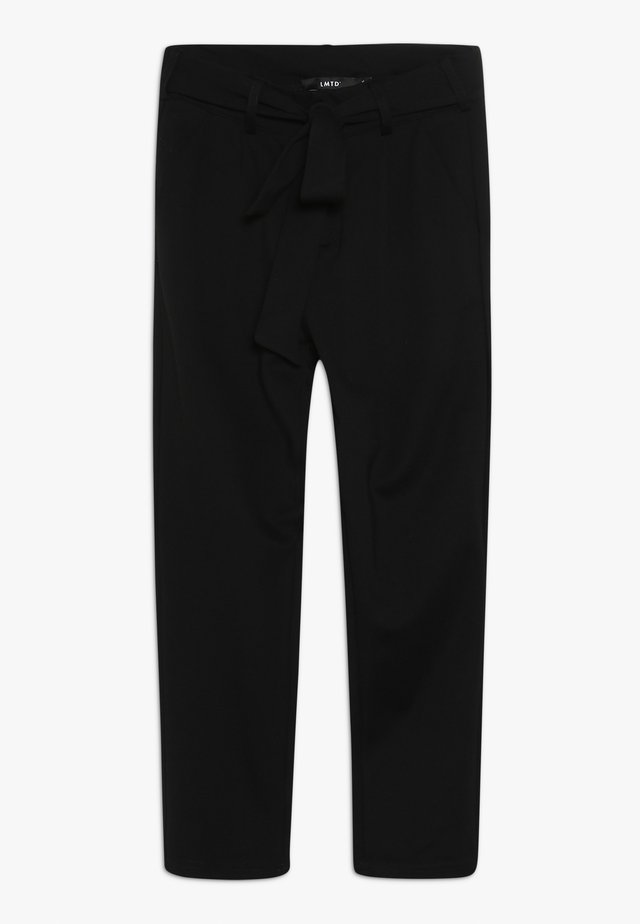 NLFJOSSEOMA ANCLE PANT - Broek - black