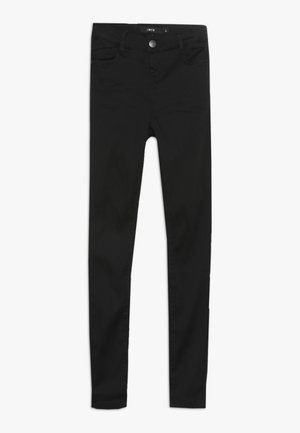 NLFPIL DNMTORA PANT - Džíny Slim Fit - black denim