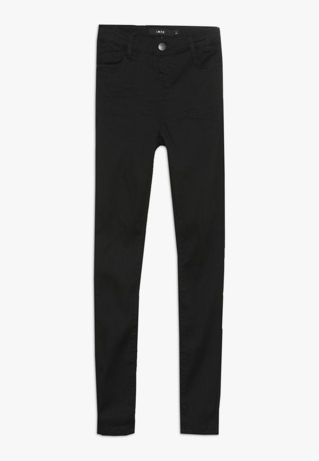 NLFPIL DNMTORA PANT - Slim fit jeans - black denim