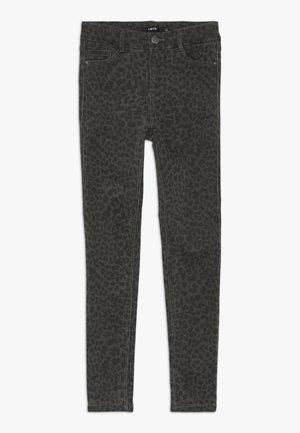 NLFPIL PANT - Skinny džíny - dark grey