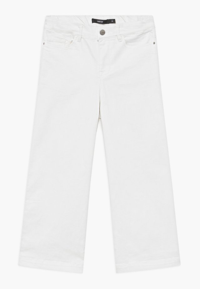 NLFALICIA  7/8 - Jeansy Bootcut - white denim