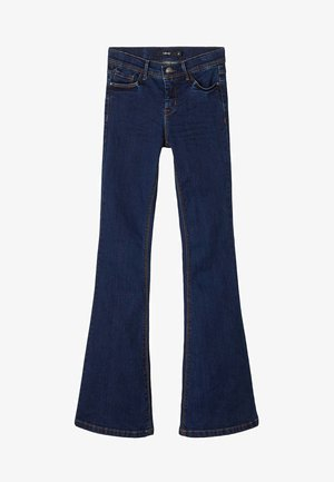 Jeans bootcut - dark blue denim