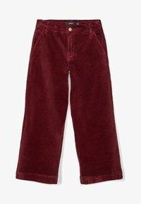 LMTD - Pantalon classique - dark red - 0