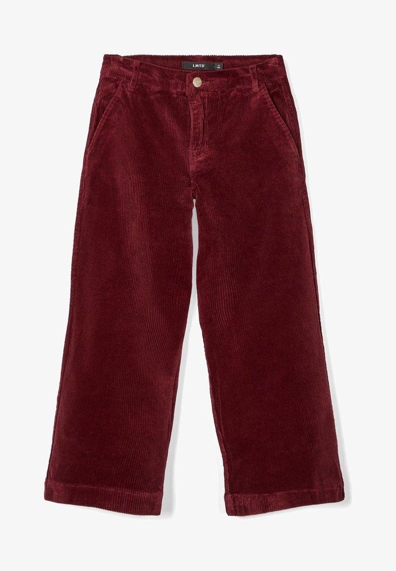 LMTD - Pantalon classique - dark red