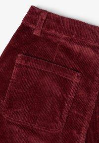 LMTD - Pantalon classique - dark red - 4