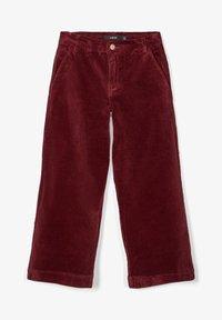 LMTD - Pantalon classique - dark red - 1
