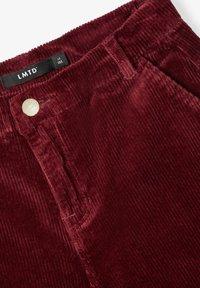 LMTD - Pantalon classique - dark red - 3