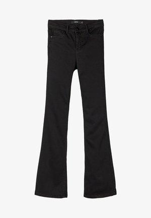 Jean bootcut - black denim