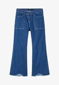 LMTD - Flared Jeans - medium blue denim - 0
