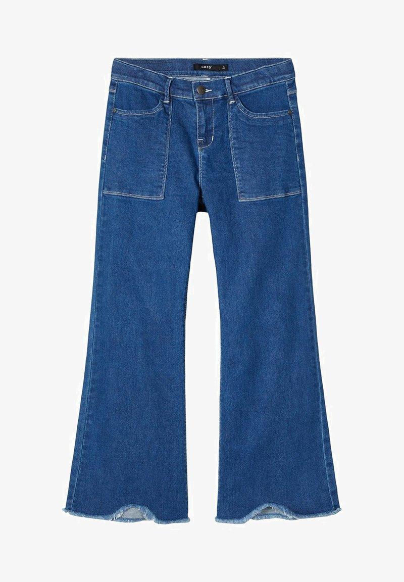 LMTD - Flared Jeans - medium blue denim