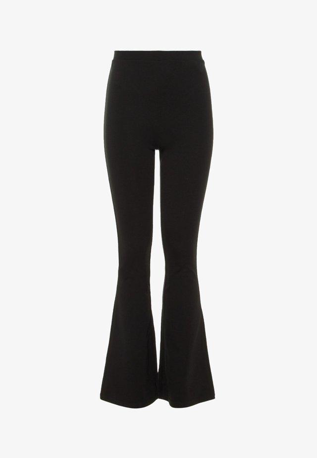NLFDONNA - Spodnie materiałowe - black