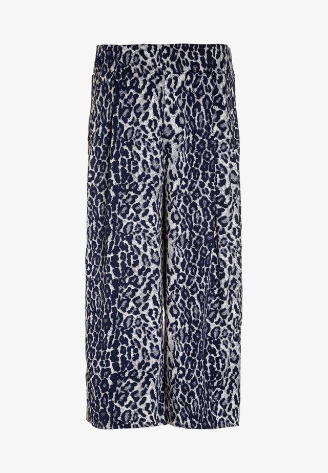 NLFODETTE WIDE PANT - Pantalon classique - vintage indigo