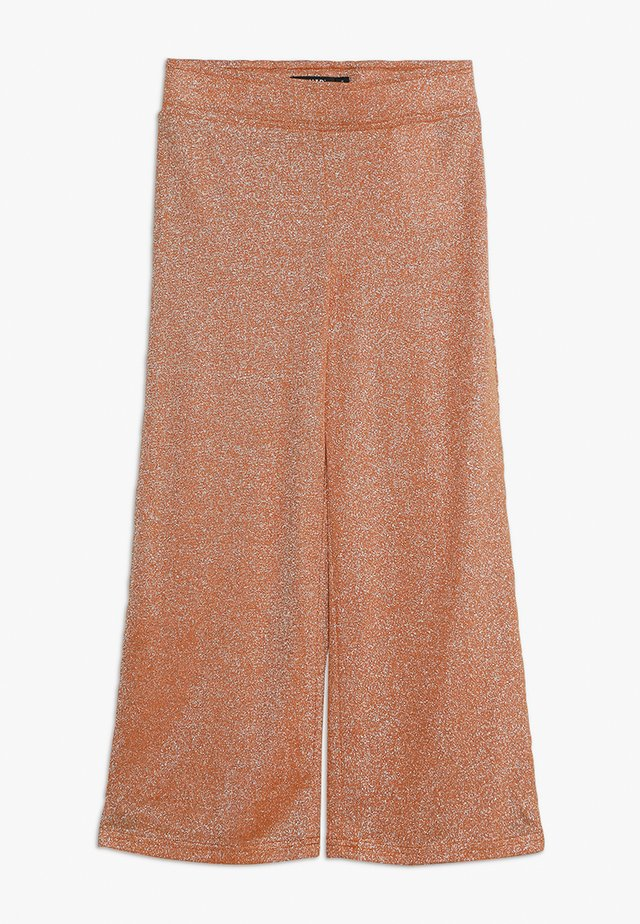 NLFJULIA WIDE CULOTTE PANT - Bukse - sun orange